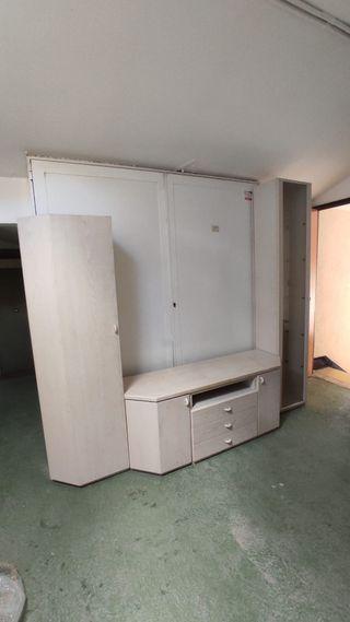 Muebles madera de salón