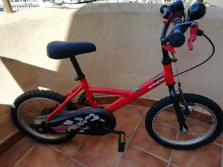 "Bicicleta de Niños, 16"" (105-130 cms)"