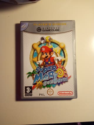 VENDO SUPER MARIO SUNSHINE GAME CUBE