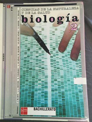 Biología 2 bachillerato SM