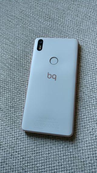 Movil Smartphone BQ Aquaris X5 Plus Blanco y Rosa