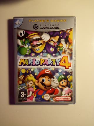 VENDO MARIO PARTY 4 GAME CUBE