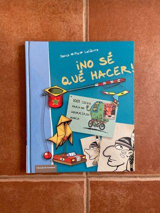 """Libro infantil """"No sé qué hacer"""""""