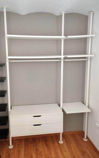 Estantería Armario Vestidor Modular IKEA STOLMEN
