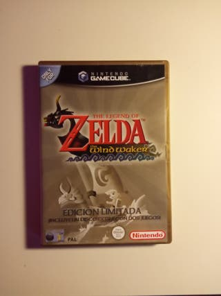 "NINTENDO GAMECUBE "" ZELDA THE WIND WAKER"" LIMITADA"