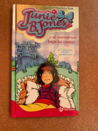 Junie b jones y el monstruo bajo la cama
