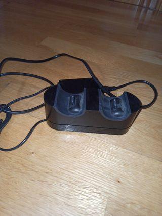Cargador para dos mandos de la play