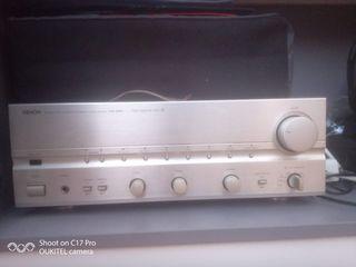Amplificador retro denonPMA 1080 R y altavoces JBL