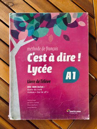 Libro Frances + Cahier 1º Bachillerato