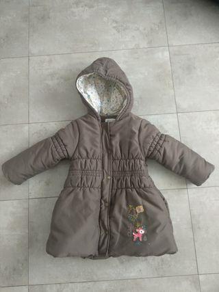 Abrigo niña 3 años