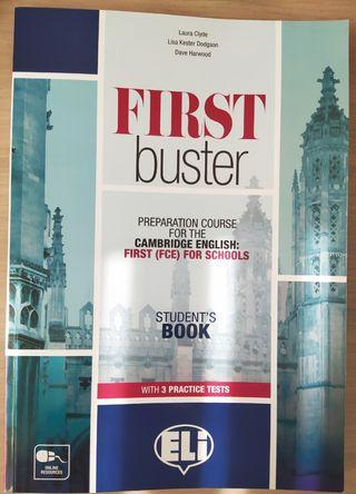 """LIBRO DE INGLÉS """"FIRST BUSTER"""""""