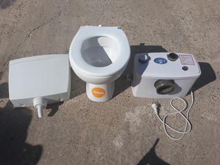 wc con triturador para caravana o autocaravana