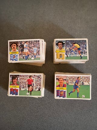 Lote cromos futbol 82/83