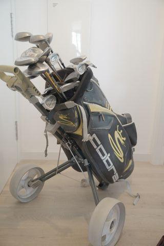 Lote de palos de golf