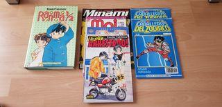 Lote 7 comics y Mangas