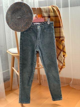 Zara velvet trousers