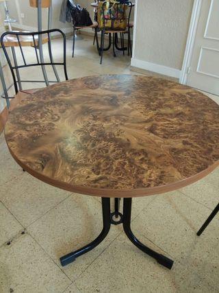 Mesa redonda de bar