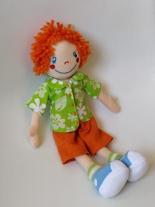 Muñeco de trapo Tomás de Saro baby