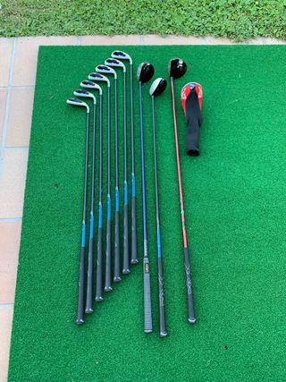 Set palos golf callaway X