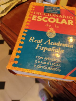 diccionario escolar Real Académia