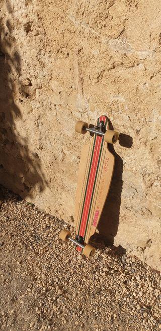 skateboard de globe tipo longboard