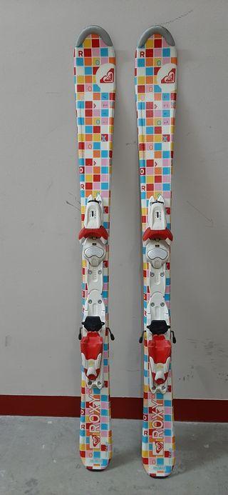 Esquís Roxy de 110cm.