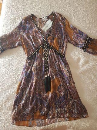 vestido boho hippie