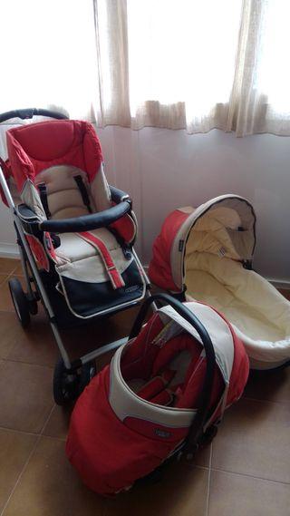 carro niño/a completo bebécar md. vector