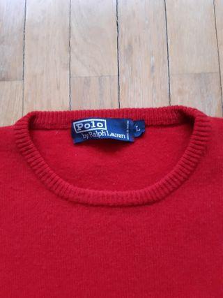 Jersei rojo Polo Raplh Lauren