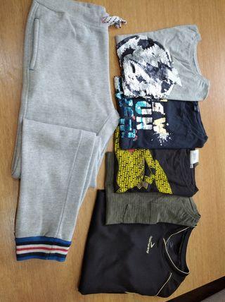 lote ropa 10-12 años niño
