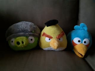 Peluches Angry Birds.