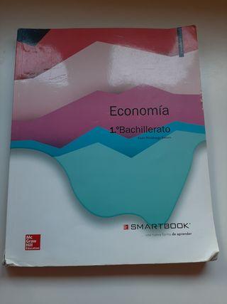 Libro economía Mc Graw Hill 1°Bach