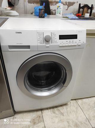 lavadora AEG de 8 kilos