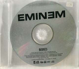 CD Single Promo Eminem Business