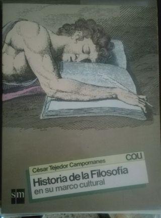 Libro Historia de la filosofía COU