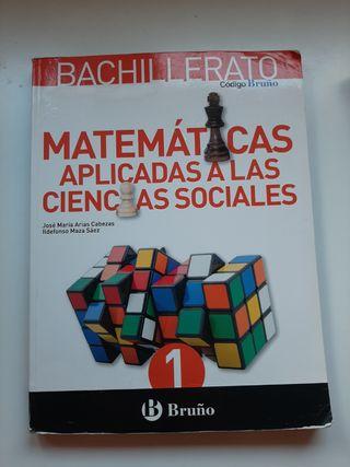 Libro Matemáticas Bruño 1° Bach