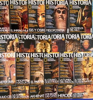23 Revistas Historia National Geographic