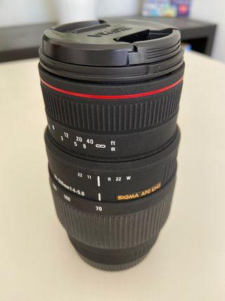 Sigma 70-300 f4.0-5.6 DG APO Macro Canon