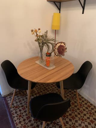 Mesa comedor redonda (La Redoute)