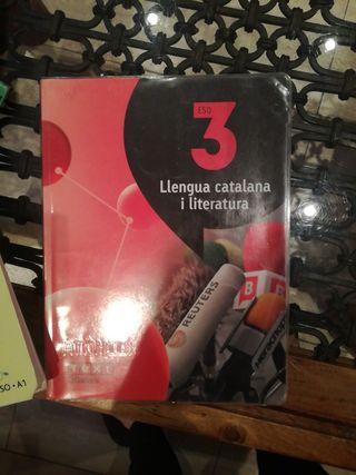 libro llengua catalana I literatura 3ESO lagalera