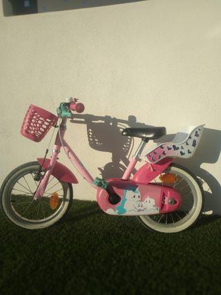 Bicicleta niña decatlon