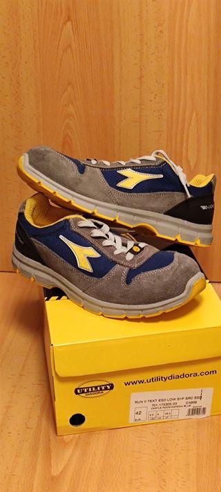 zapatos seguridad Diadora Run 42
