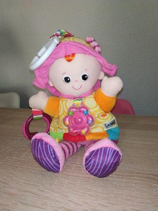 Muñeca sensoriales para bebe diferentes texturas.