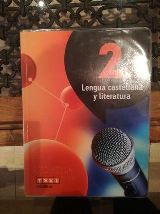 libro lengua castellana y literatura 2ESO lagalera