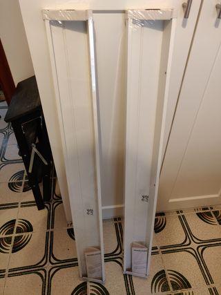 2 baldas Ikea 115cm sin desembalar