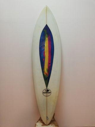 "Tabla de surf Single fin 6'1"""