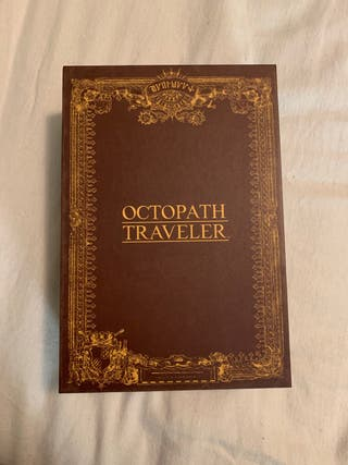 Octopath Traveler: Traveler's Compendium Edition.