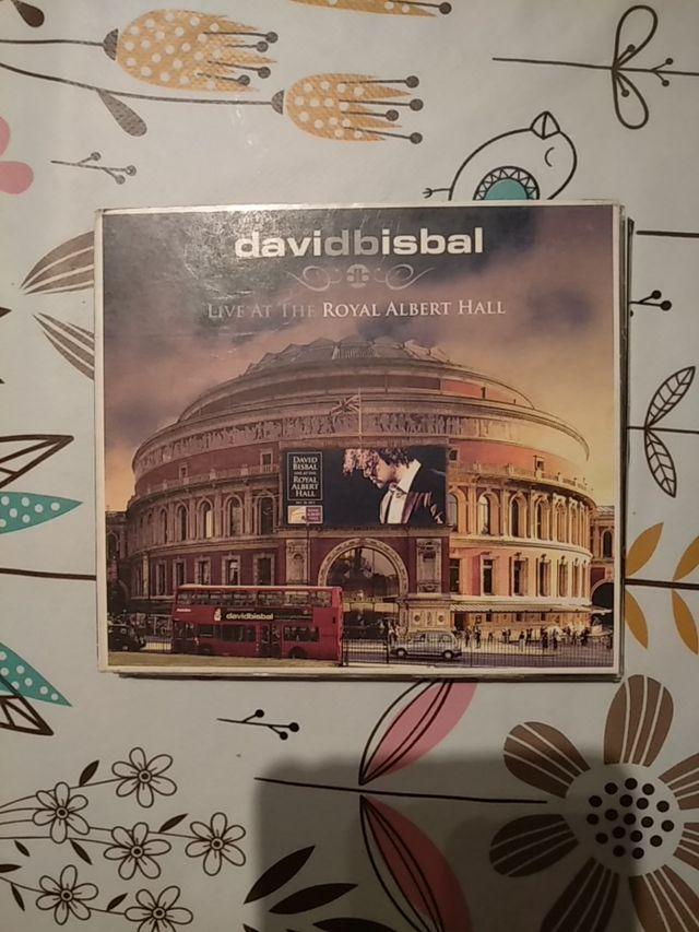 CD Y DVD DAVID BISBAL