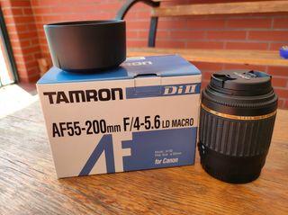Objetivo Tamron 50-200 (Canon)