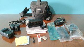 cámara de vídeo canon legria hf r37 + regalo